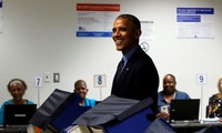 US Presidential Election: US President casts early vote