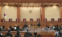 President Park Geun-Hye named as bribery suspect