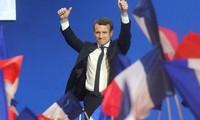 World leaders congratulate French President-elect Emmanuel Macron