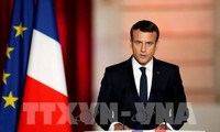 French President vows to build a strong nation