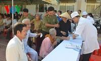Vietnam always cares for revolutionary contributors