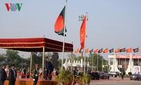 President begins State visit to Bangladesh