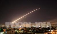 US, UK, France launch Syria strikes