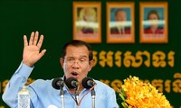 Cambodian PM says no to foreign military base