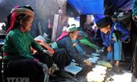 Traditional market in spotlight at Hanoi's ethnic culture village in April