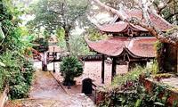 Doi Son pagoda, a Buddhist center in northern Vietnam