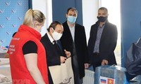 Vietnamese expats in Russia donate face masks to local volunteers
