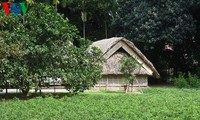 Humble thatched cottage President Ho Chi Minh lived in from 1901 to 1906