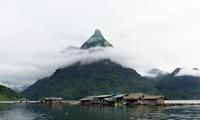 Na Hang ecotourism site, Ha Long Bay of the hills