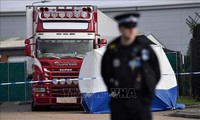 Trial begins of suspects in UK migrant truck tragedy