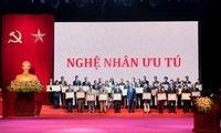 Artisans honored for preserving traditional handicrafts