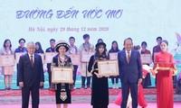 Outstanding ethnic minority students honored