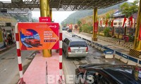 Electronic non-stop toll collection system begins operation