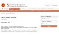 Vietnam Social Security provides public services online