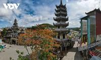 Unique pagoda forms popular attraction in Da Lat city