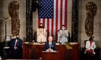 America 'ready for takeoff,' Biden tells Congress