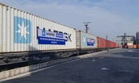 Vietnam operates freight train service to Europe