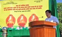 Marine Vietnams ehrt die gefallenen Beamten und Soldaten