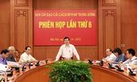 Staatspräsident Truong Tan Sang leitet die Sitzung zur Justizreform