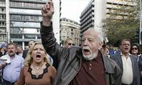 Meinungsverschiedenheiten über die Sparziele Griechenlands