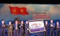 Übergabe des Multifunktionskulturhauses auf der Sinh Ton-Insel