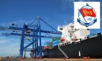 Staatspräsident Truong Tan Sang besucht die Hafengesellschaft Tan Cang Sai Gon
