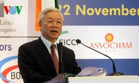 KPV-Generalsekretär Nguyen Phu Trong besucht die Stadt Mumbai in Indien