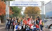 Die Zahl der vietnamesischen Studenten in Russland steigt kontinuierlich