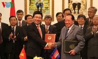 Die Beziehungen zwischen Vietnam und Kambodscha entwickeln sich zunehmend