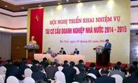 Konferenz zur Umstrukturierung staatlicher Unternehmen