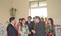 Staatspräsident Truong Tan Sang führt seine Arbeit in der Provinz Nghe An fort