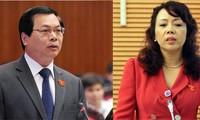 Fragestunde für Handels-und Gesundheitsminister auf der Sitzung des ständigen Parlamentsausschusses