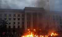 Ukraine: 37 Menschen kommen bei blutigen Zusammenstößen in Odessa ums Leben