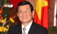 Staatspräsident Truong Tan Sang empfängt neue Botschafter aus Polen und China