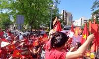Protest der vietnamesischen Gemeinschaft in Angola und Zypern gegen China