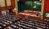 Parlamentarier beraten über den geänderten Gesetzesentwurf zur Organisation des Parlaments