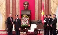 Staatspräsident Truong Tan Sang empfängt Weltbank-Präsident