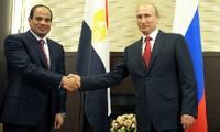 Russland und Ägypten verstärken Zusammenarbeit in vielen Bereichen