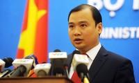 Vietnam unterstützt die Bemühung internationaler Gemeinschaft um Kampf gegen Terrorismus