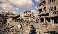 Perspektive des Wiederaufbaus für Gazastreifen