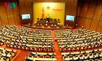 Parlamentarier diskutieren über den geänderten Gesetzesentwurf zur Organisation der Regierung