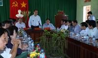 Vorsitzender der Vaterländischen Front Vietnams tagt mit der Provinz Binh Dinh