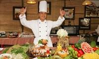 Eröffnung des kulinarischen Festivals im Süden