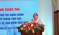 Vizepremierminister Nguyen Xuan Phuc appelliert für Verwaltungsreform