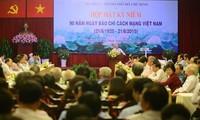 Zahlreiche Aktionen zum 90. Jahrestag der vietnamesischen Revolutionspresse