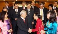 KPV-Generalsekretär trifft Botschafter und Leiter der vietnamesischen Vertretungen im Ausland