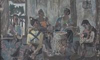 Restauration berühmter Gemälde Vietnams