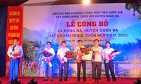 Dong Ha hat Kriterien zur Neugestaltung ländlicher Räume erfüllt