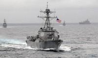 Viele Länder betonen den Respekt vor der Seefahrt- und Luftfahrtfreiheit im Ostmeer