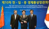 Japan, China und Südkorea beschleunigen die Verhandlung über das Freihandelsabkommen